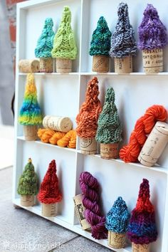 Simply Notable Pint Sized Pines In A Cork Forest Free Knitting Pattern