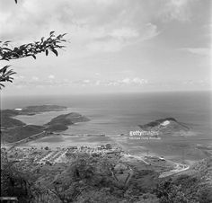 An overview in Charlotte Amalie, St. Thomas, US Virgin Islands.