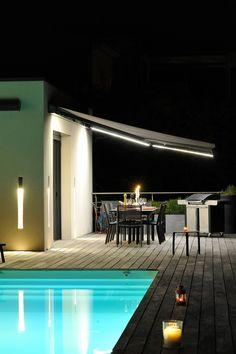 Store Pour Terrasse Avec éclairage LED