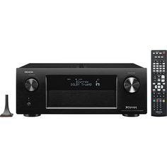 Denon - IN-Command 1645W 7.2-Ch. Network-Ready 4K Ultra HD and 3D Pass-Through A/V Home Theater Receiver