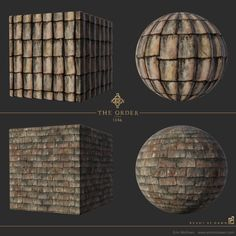 ArtStation - The Order: 1886 - Material Studies, Erin McKown