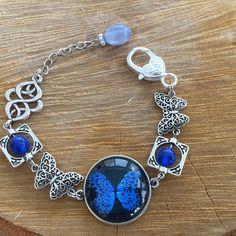 BLUE BUTTERFLY BRACELET, Blue glass cabochon bracelet, Asymmetric bracelet, Blue women bracelet, Unique women jewelry, Gift for her Butterfly Bracelet, Butterfly Jewelry, Blue Butterfly, Red Jewelry, Unique Jewelry, Women Jewelry, Bohemian Bracelets, Bohemian Jewelry, Prom Necklaces