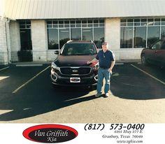 https://flic.kr/p/CsPyMk | Congratulations James on your #Kia #Sorento from Kyle Kirkpatrick at Van Griffith Kia! | deliverymaxx.com/DealerReviews.aspx?DealerCode=PXVJ