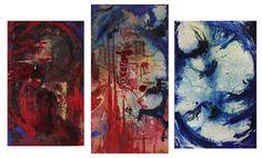 "Saatchi Art Artist Carolina Jaramillo; Painting, ""Dante y los tres Reinos"" #art"