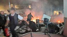 Pencarian Korban Ledakan Bandara Zaventem