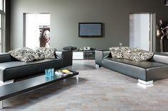 Cork flooring - basement