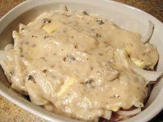 Dwelling & Telling: Baked Cream of Mushroom Chicken