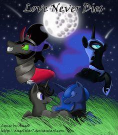 princess luna and king sombra - Google Search