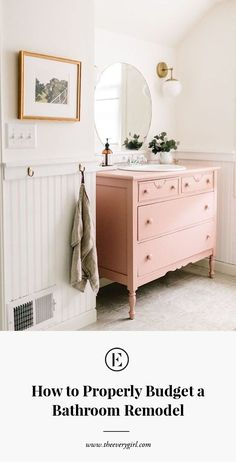 7 Bathrooms That Will Make You Want To Go Pink, 7 Bathrooms That Will Make You Want To Go Pink bathroom decor ideas Bad Inspiration, Bathroom Inspiration, Home Decor Inspiration, Decor Ideas, Decorating Ideas, Bathroom Ideas, Bathroom Vanities, Bathroom Renovations, Holiday Decorating