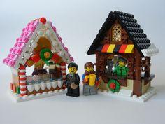 https://flic.kr/p/qPuZMZ | MarketStands | Cookie Cottage and Brauhütte stands for the Winter Market