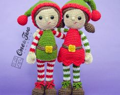 Amigurumi Nativity Free Download : Merry the christmas elf amigurumi patterns elves and crochet