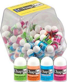 Chap Ice Lip Balm - 100 Piece Display   Giggletimetoys.com