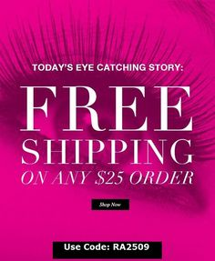 #FreeShipping on your order of $25 or more when you use code RA2509   Expires September 30, 2017 http://jacquelinec.avonrepresentative.com