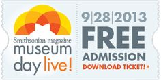 "Register for FREE Museum admission for 2 including the all-new ""Day of the Dead: Art of Día de los Muertos"" exhibit on Sat., 9/28/13 with advance registration at http://www.smithsonianmag.com/museumday/ticket/ Be sure to elect ""CA - The California Museum"" as the venue, and we hope to see you here!"