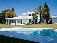 Une maison blanche pour l'été en Espagne