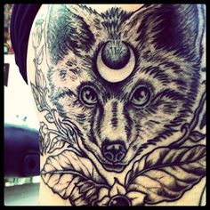 wolf tattoo meaning hd dreamcatcher and wolf tattoo 3d Wolf Tattoo, Wolf Tattoo Meaning, Fox Tattoo, Wolf Tattoos, Tattoos With Meaning, Tattoo Art, Dream Tattoos, Future Tattoos, New Tattoos