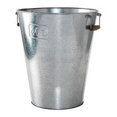 IKEA - GRÄSLÖK, Plant pot, The handles make it easier to move the plant pots.Galvanized for rust resistance.
