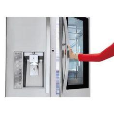 LG Electronics 24 cu. ft. 3-Door French Door Smart Refrigerator with InstaView Door-in-Door and WiFi in Stainless Steel, Counter Depth-LFXC24796S - The Home Depot