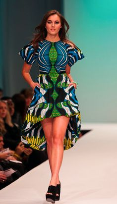 Clothing for women. African Prints in Fashion: Prints of the Week: Modahnik