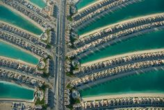 Dubai, United Arab Emirates Dubai's ambitious coastal expansion will add over 1,000 kilometers of new coastline to the tiny nation, including the first artificial island, Palm Jumeirah, pictured here.