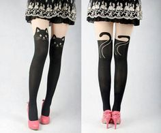 Cat stockings cute