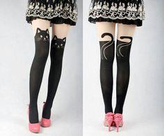 Cat stockings cute