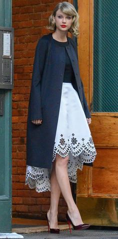 69 Reasons Why Taylor Swift Is a Street Style Pro - December 12, 2014 from #InStyle