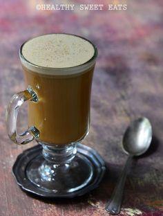 delicious butterbeer latte rezept pinterest filmabend halloween rezept und starbucks rezepte. Black Bedroom Furniture Sets. Home Design Ideas