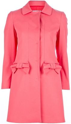 red valentino down jacket with back bow