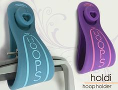 $18 This unique and functional product will hold up to 4 embroidery hoops on your wall, It is easy to use and it will look great in any sewing room and it is made to last (high quality silicone).Easy to mount (hardware included)  ...HOLDI Hoop Holder is a 'must have' notion and it will make great gifts as well!