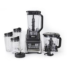Nutri Ninja® Ninja® Blender System with Auto-iQ™, $250. http://www.ninjakitchen.com/nutri-ninja-auto-iq/BL682 & http://www.ninjakitchen.com/nutri-ninja-auto-iq/BL682-parts-and-accessories/.  What about food processor kit w/ slicing/shredding/grating discs & feed chute lid? https://www.youtube.com/watch?v=GL8Xh6BoKfI  And bowl-in-bowl w/ adapter & blade? https://www.youtube.com/watch?v=BZRoq4yNGtM