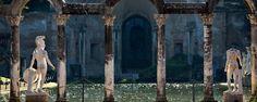 Villa d'Este outside of Rome (in Tivoli)