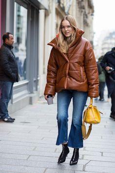 On the street at Paris Fashion Week. Photo: Chiara Marina Grioni/Fashionista.