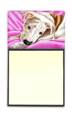 Dream Girl Pit Bull Sticky Note Holder AMB1413SN