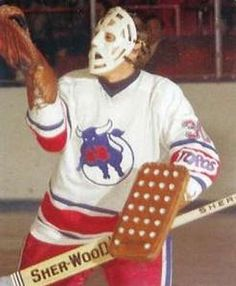 Les Binkley w/ Toronto Toros Hockey Rules, Hockey Logos, Bruins Hockey, Hockey Goalie, Hockey Players, Maple Leafs Hockey, Stars Hockey, Goalie Mask, National Hockey League