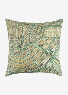 Pillow Map draws attention to itself rather than info on map