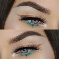 How to use eyeshadow as liner
