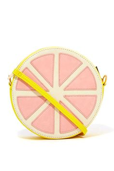 Cute and quirky for Sprint! --Sweet Grapefruit Bag, Nasty Gal.