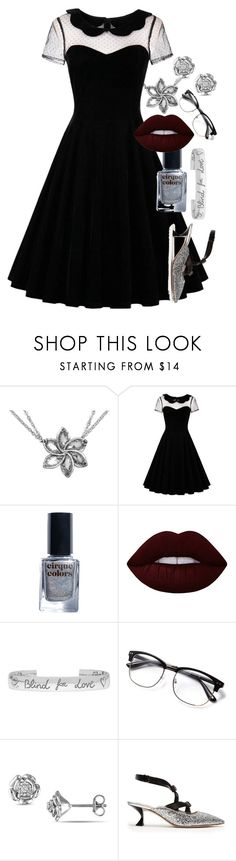 """#PolyPresents: Party Dresses"" by twisted-magic ❤ liked on Polyvore featuring Cirque Colors, Lime Crime, Gucci, Miu Miu, contestentry and polyPresents"