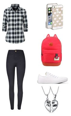 """Literally what I wore to school"" by harjas1321 on Polyvore featuring Converse, Kate Spade and Bling Jewelry"