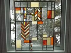 beautiful stained glass piece.