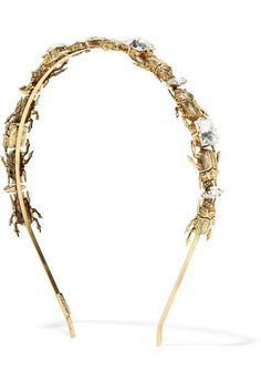 Quill Gold-plated Headband - one size Lelet NY gKp0C