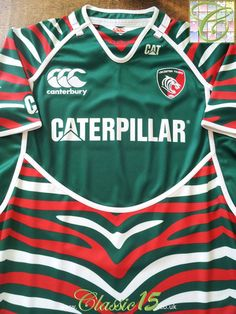 buy popular fad7e 0ee96 54 Best Classic Leicester Tigers Rugby Shirts images in 2019 ...