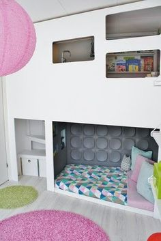 the coolest kids bedroom ever. But I hope that bed is temperpedic. Looks uncomfortable. #dogcoolbeds