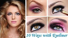 10 Different Ways to Apply Eyeliner – Part 1  http://www.dotcomwomen.com/beauty/10-ways-to-apply-eyeliner/11729/