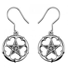 Kalevala Koru / Kalevala Jewelry / MICHAEL MONROE A STAR ALL HEART EARRINGS / Material: silver or bronze