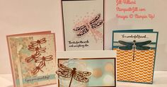 So beautiful and so easy to make with the Dragonfly Dreams bundle!           you can see all the card kit details here:  Card/Project Kits ...