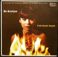 Bo Axelzon  his exotic sounds. -Stockholm, Sweden, Subliminal Sounds SUB LP1, p1980. 10-inch exotica record. Tiki.