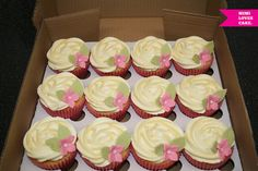 Simple Tea Party Cupcakes by Mimi Loves Cake, via Flickr