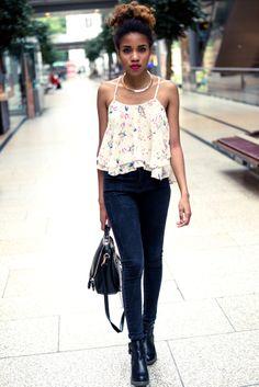 #women of color #fashion! #blogger